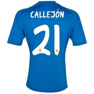 Camiseta nueva Real Madrid Callejon Equipacion Segunda 2013/2014