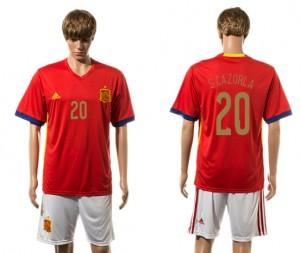 Camiseta de España 2015-2016 20#