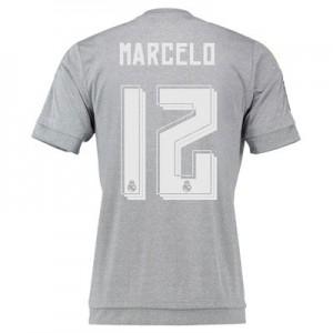 Camiseta nueva del Real Madrid 2015/2016 Equipacion Numero 12 MARC Segunda