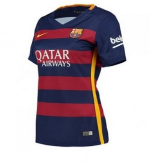 Camiseta de Barcelona 2015/2016 Primera Equipacion Mujer
