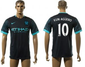 Camiseta del 10# Manchester City Away aaa version