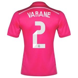 Camiseta del Varane Real Madrid Segunda Equipacion 2014/2015