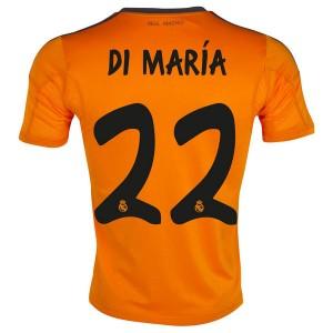 Camiseta nueva del Real Madrid 2013/2014 Equipacion Di Maria Tercera