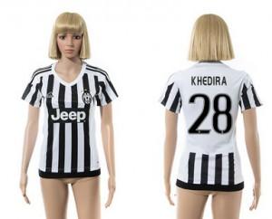 Camiseta Juventus 28 2015/2016 Mujer