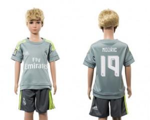 Camiseta nueva Real Madrid Niños 19 Away 2015/2016