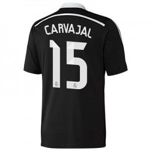 Camiseta del Daniel Carvajal Real Madrid Tercera Equipacion 2014/2015