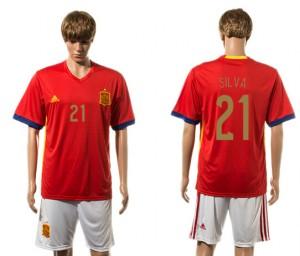 Camiseta nueva del España 2015-2016 21#