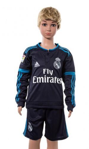Camiseta nueva Real Madrid Niños Manga Larga 2015/2016