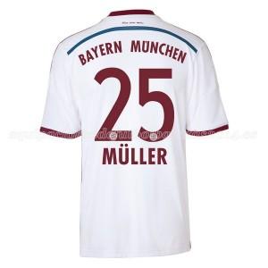 Camiseta nueva del Bayern Munich 2014/2015 Equipacion Muller Segunda