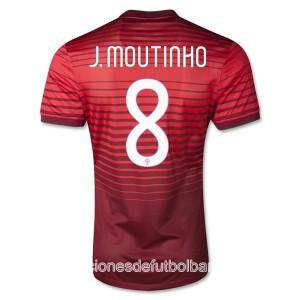 Camiseta del J Moutinho Portugal de la Seleccion Primera 2013/2014