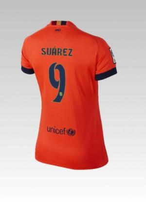 Camiseta del Bartra Barcelona Tercera 2014/2015