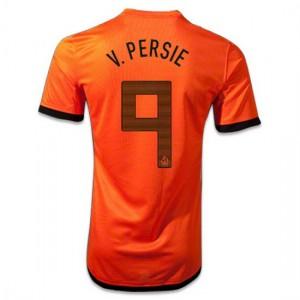 Camiseta nueva Holanda de la Seleccion V.Persie Primera 2012/2014