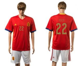 Camiseta de España 2015-2016 22#