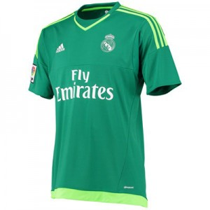 Camiseta Portero nueva del Real Madrid 2015/2016 Equipacion Segunda