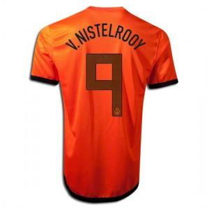 Camiseta nueva Holanda de la Seleccion V.Nistelrooy Primera 2012/2014