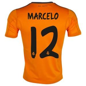 Camiseta Real Madrid Marcelo Tercera Equipacion 2013/2014