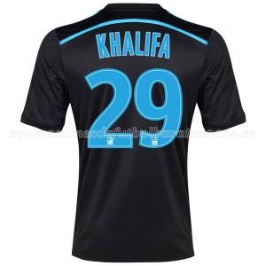 Camiseta nueva del Marseille 2014/2015 Khalifa Tercera