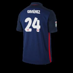 Camiseta nueva Atletico Madrid GIMENEZ Equipacion Segunda 2015/2016