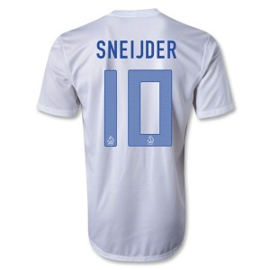 Camiseta nueva Holanda Sneijder Segunda 2013/2014
