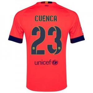Camiseta nueva del Barcelona 2014/2015 Equipacion Cuenca Segunda