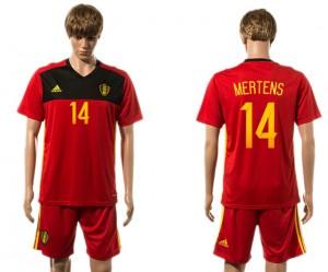 Camiseta de Belgium 2015-2016 14#