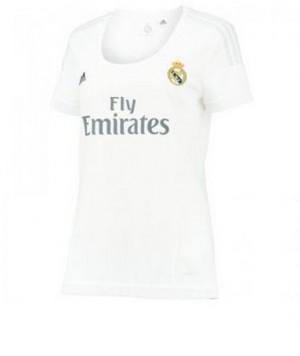 Camiseta Real Madrid Primera Equipacion 2015/2016 Mujer