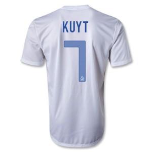 Camiseta nueva del Holanda 2013/2014 Kuyt Segunda