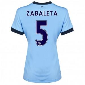 Camiseta del Dzeko Manchester City Primera 2013/2014