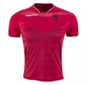 Camiseta Albania Home 2016