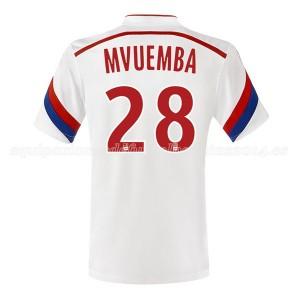 Camiseta de Lyon 2014/2015 Primera Mvuemba
