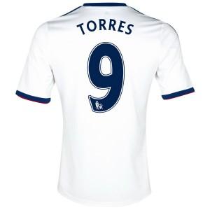 Camiseta Chelsea Torres Segunda Equipacion 2013/2014