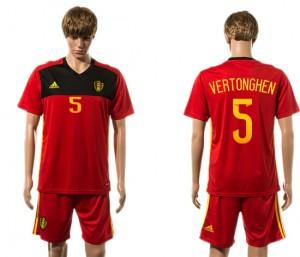 Camiseta del 5# Belgium 2015-2016
