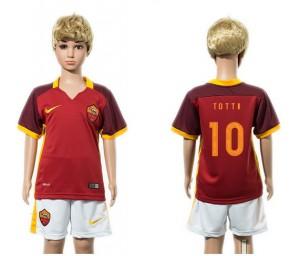 Camiseta AS Roma 10 2015/2016 Niños