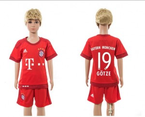 Camiseta nueva Bayern Munich Niños 19 Home 2015/2016