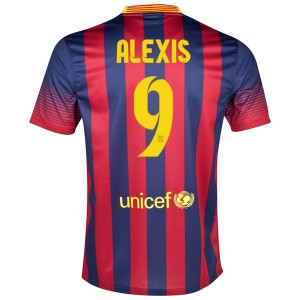 Camiseta del Alexis Barcelona Primera 2013/2014