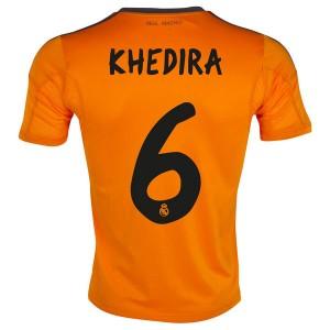 Camiseta nueva Real Madrid Khedira Equipacion Tercera 2013/2014