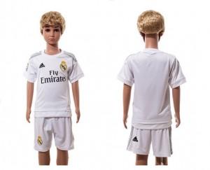 Camiseta Real Madrid Home 2015-2016 Niños