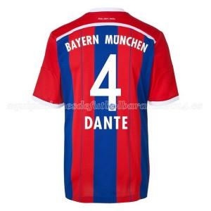 Camiseta de Bayern Munich 2014/2015 Primera Dante Equipacion